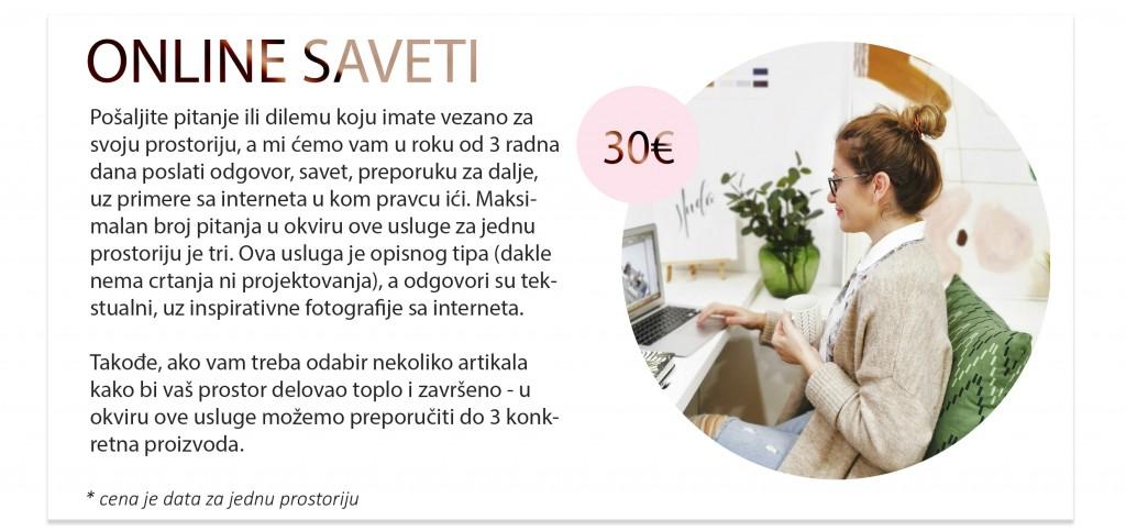 online saveti