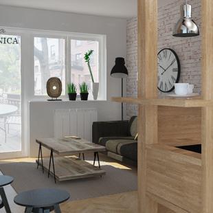 dnevna soba - industrijski (loft) stil