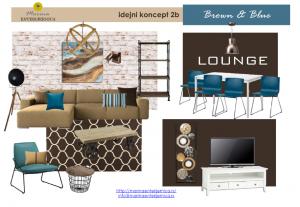 dnevna soba i trpezarija- kombinacija industrijskog i skandinavskog stila