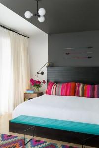 spavaća soba sa etno motivima