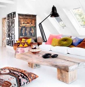dnevna soba u etno stilu