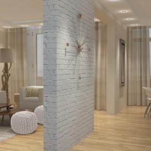 moderna dnevna soba i trpezarija