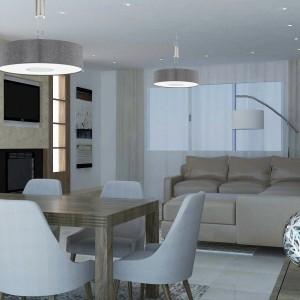 moderna dnevna soba sa kaminom