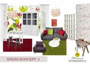 poslovni prostor - skandinavski & retro stil