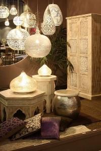 kućna dekoracija u etno (orjentalnom) stilu