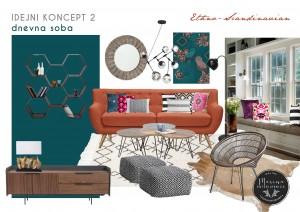 dnevna soba - Etno Stil