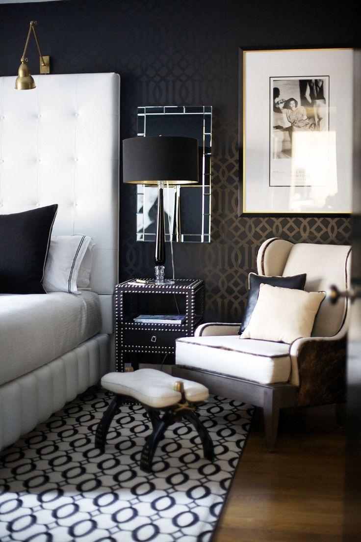 stilovi u enterijeru - glamur stil u spavaćoj sobi