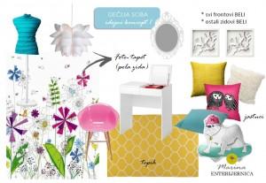 idejni koncept 1 - dečija soba