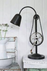 industrijski stil - lampa