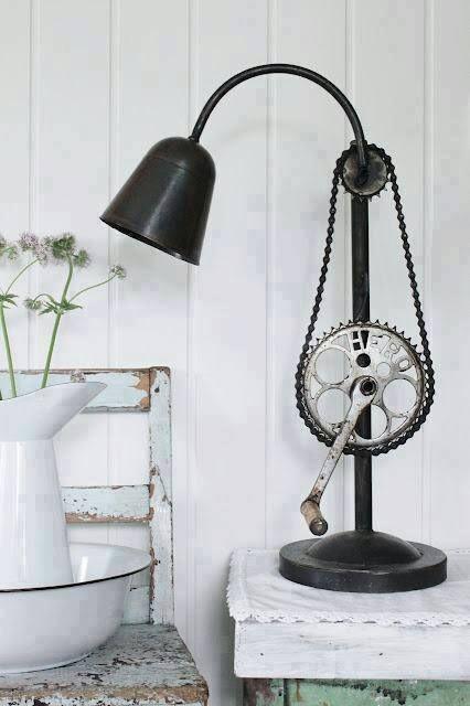 industrijski stil – lampa