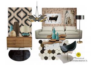 dnevna soba - moderan stil