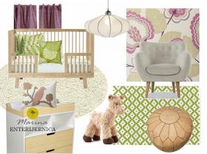 dečija (baby) soba - romantičan & retro stil