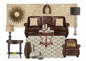 dnevna soba - klasičan & rustičan stil