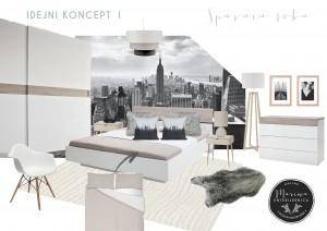moodboard-1- moderna spavaća soba