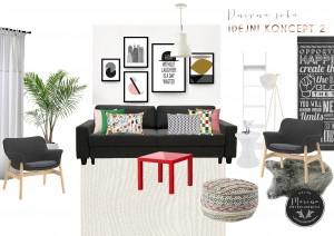 moodboard-2- Tanja (dnevna soba IKEA)
