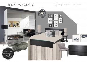 moodboard-2- moderna spavaća soba