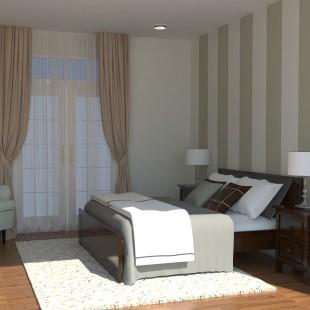spavaća soba - klasičan stil- 3