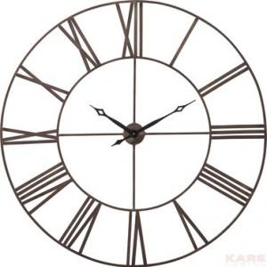 zidni sat u industrijskom stilu