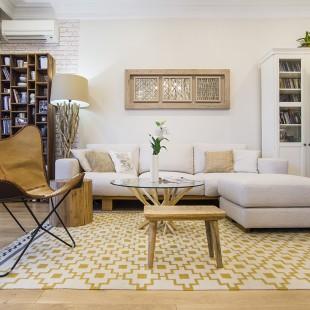 dizajn dnevne sobe u neutralnim bojama