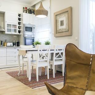 kuhinja i trpezarija - shabby chic stil