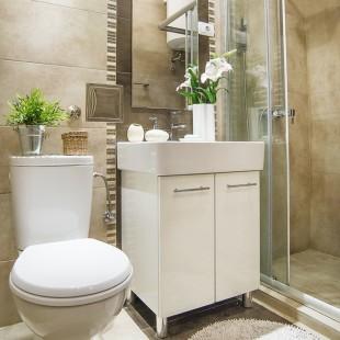 kupatilo- privatan stan na Lionu