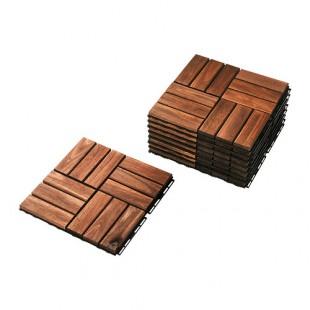 drvene pločicee za pod terase (30x30cm)