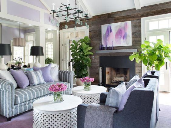 Kako dekorisati sobu sa zidovima u boji lavande? - Marina ENTERIJERNICA