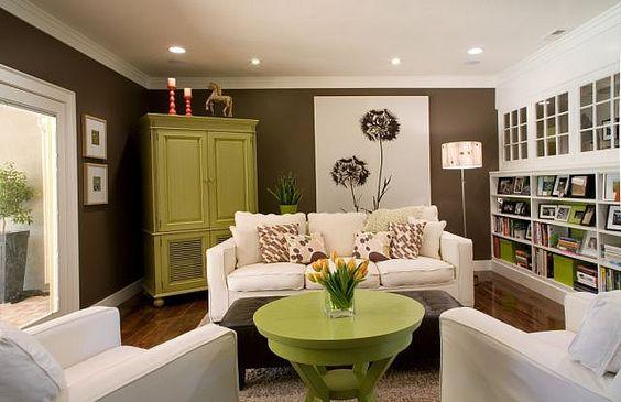 Kako dekorisati dnevnu sobu sa bež braon nameštajem? - Marina ENTERIJERNICA