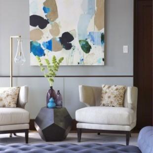 klasična dnevna soba sa modernim detaljima