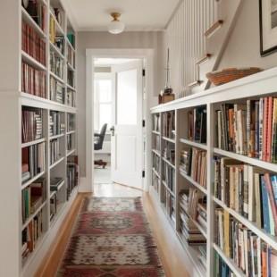 biblioteka u predsoblju