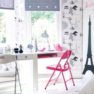 pink radna stolica