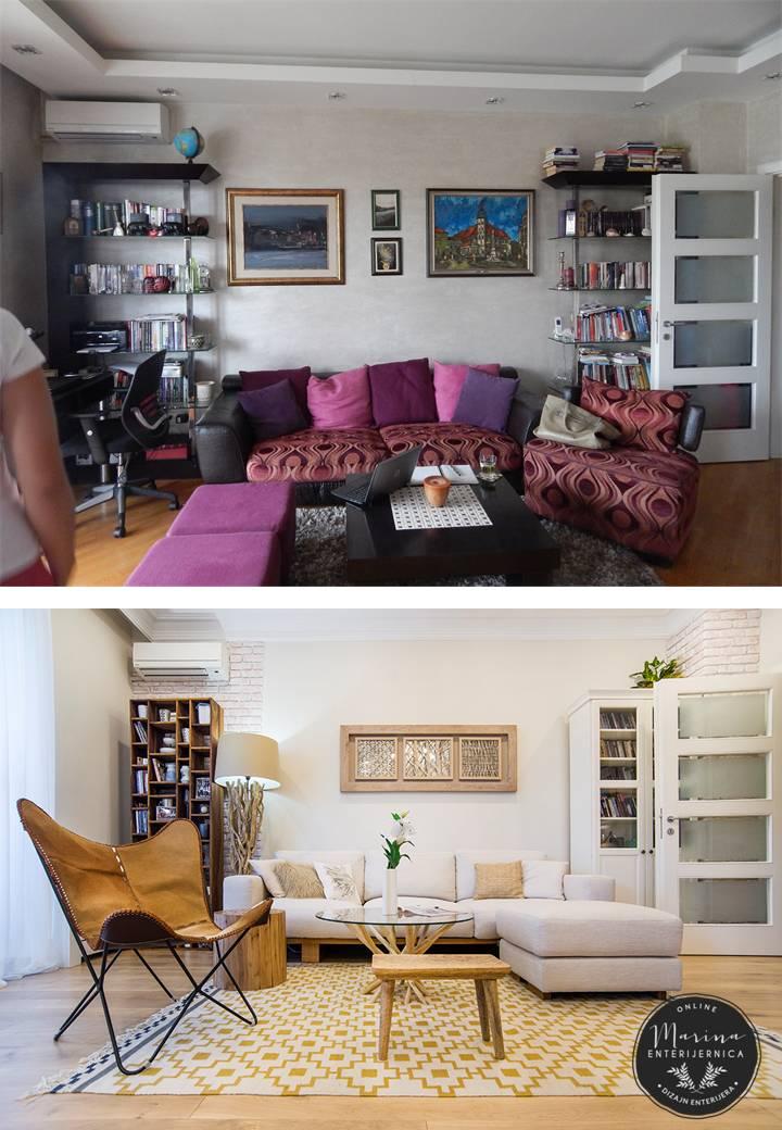 dnevna soba- pre i posle-2