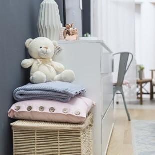 kutak za bebu u spavaćoj sobi