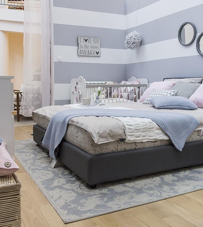 prugasti zid u spavaćoj sobi-1