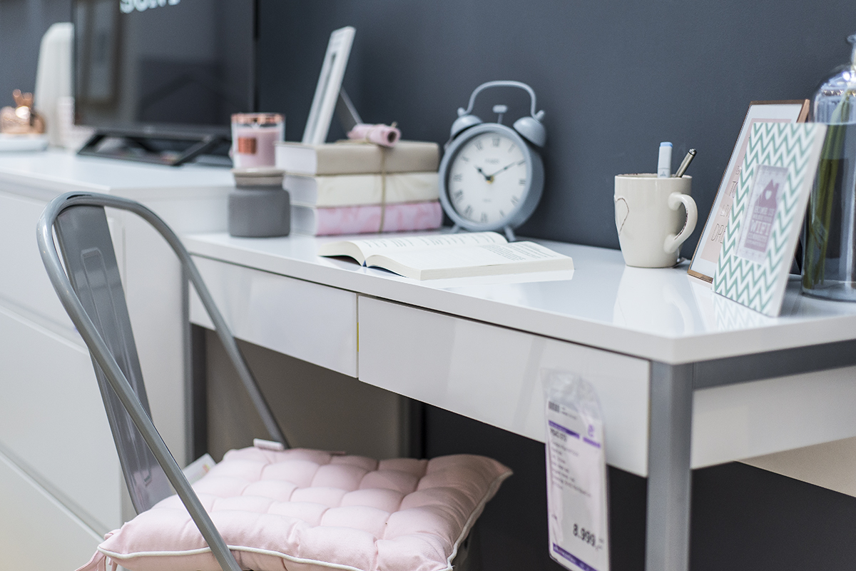 radni prostor u spavaćoj sobi