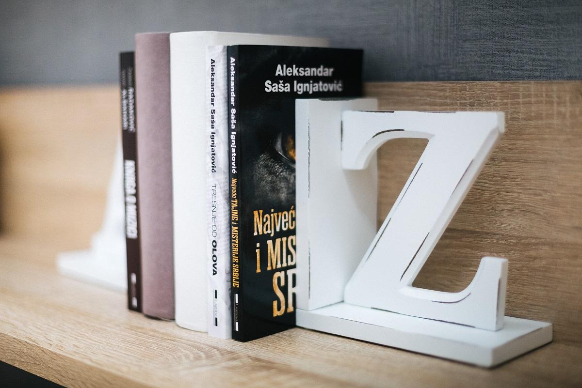 držači knjiga - dekoracija