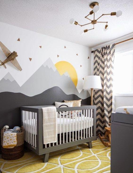 Stiker na zidu u sobi za bebu 2