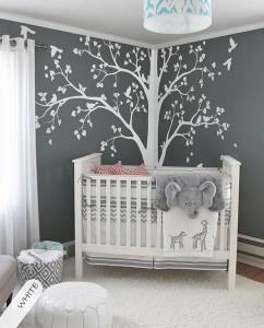 Stiker na zidu u sobi za bebu 3