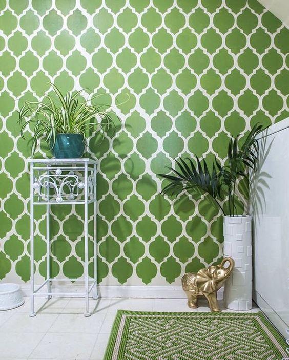 greenery tapete 1