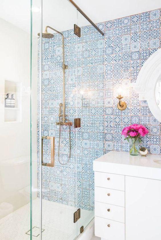 keramičke pločice u boho stilu za kupatilo