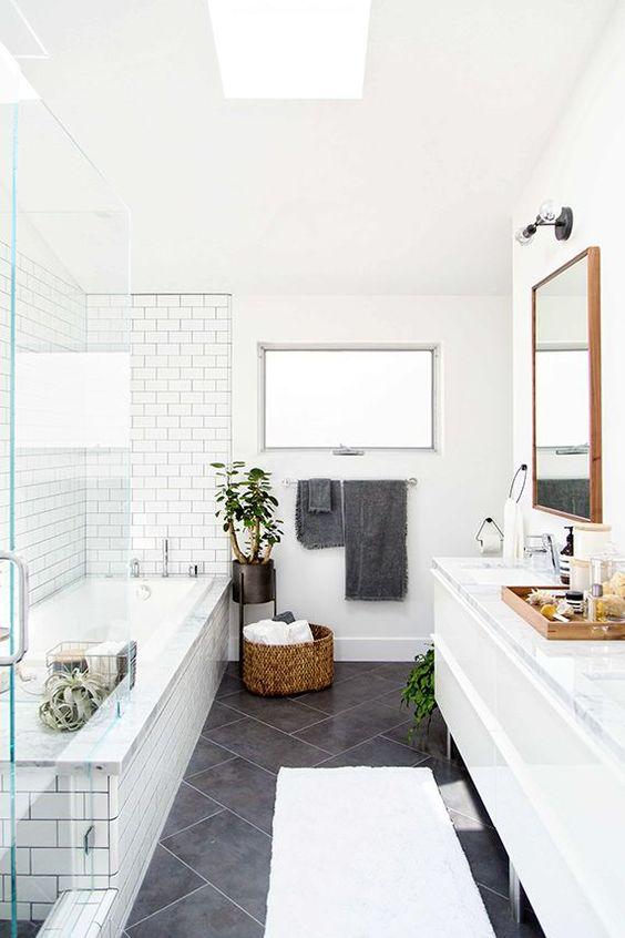 podne plocice u kupatilu imitacija mermera 3