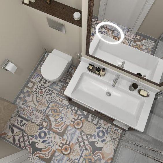 podne plocice u kupatilu patern 4