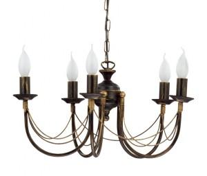 Luster sa svecama Lampelusteri