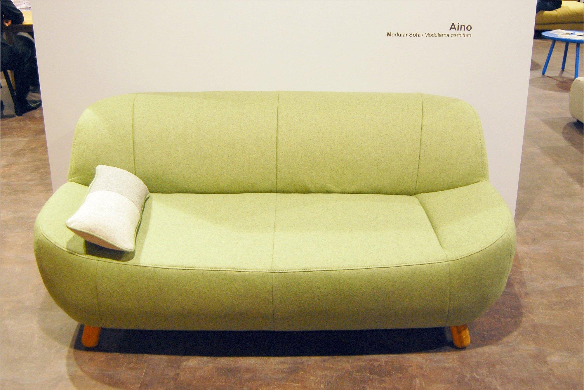 zelena sofa_sajam namestaja