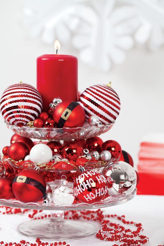 Crveno bela novogodisnja dekoracija 3