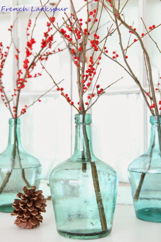 crveno tirkizna novogodišnja dekoracija 2