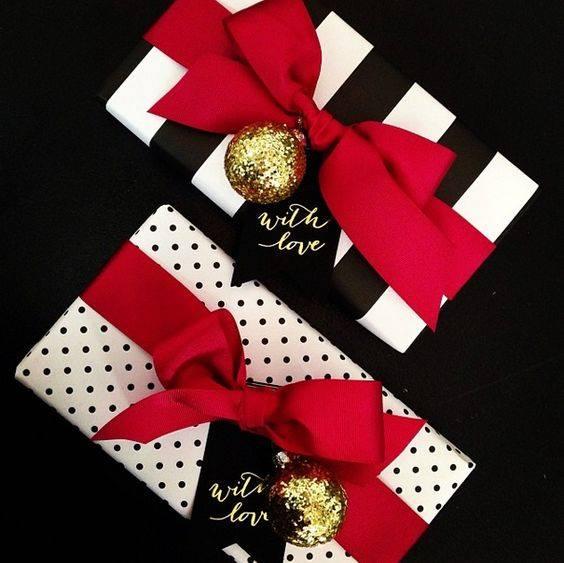 novogodisnja dekoracija_uradi sam_pakovanje poklona_1