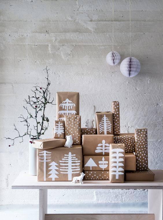 novogodisnja dekoracija_uradi sam_pakovanje poklona_10