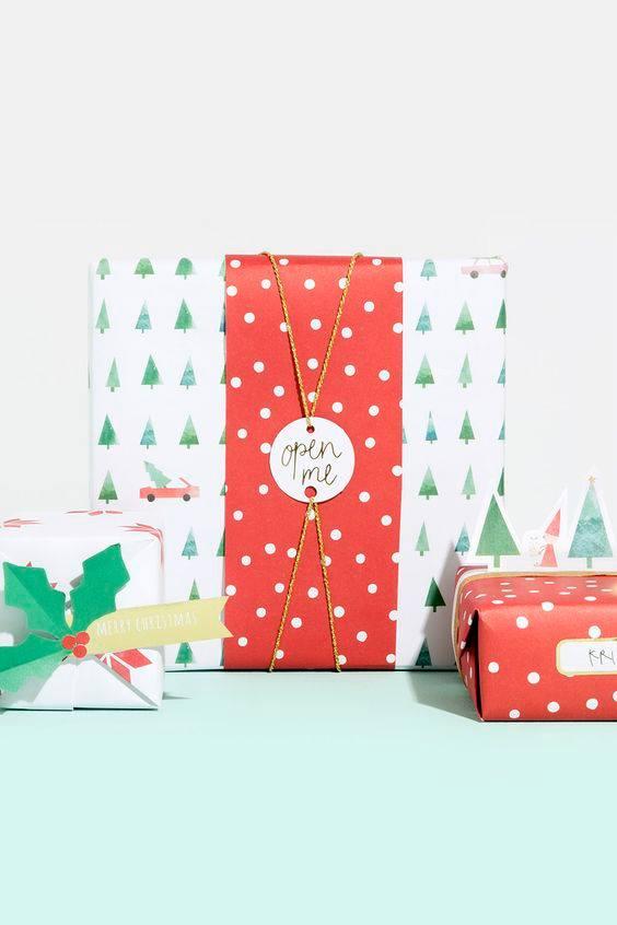 novogodisnja dekoracija_uradi sam_pakovanje poklona_15