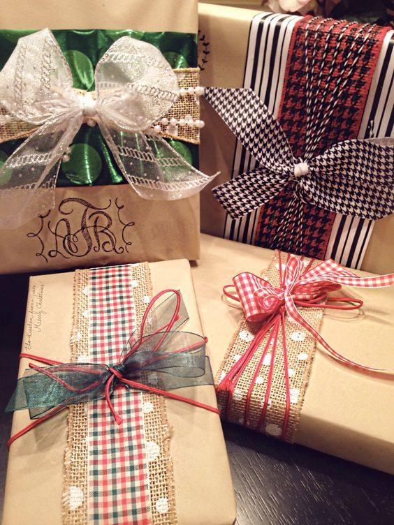 novogodisnja dekoracija_uradi sam_pakovanje poklona_16